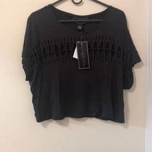 Black Crop top, brand new with tags